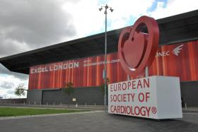 ESC congress sign