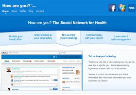 NHS social network How Are You?