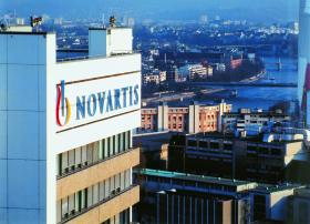 Novartis' Swiss headquarters