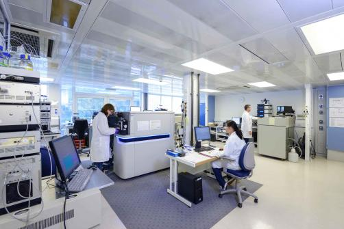 R&D lab at Alderley Park