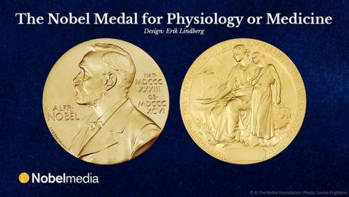 The Nobel Medal...